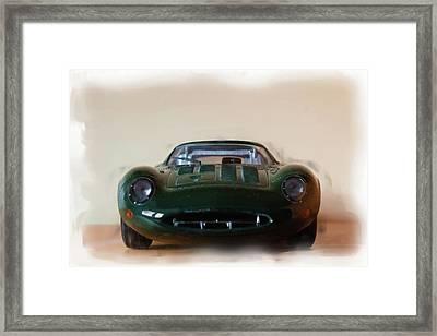 Jaguar Xj13 Framed Print