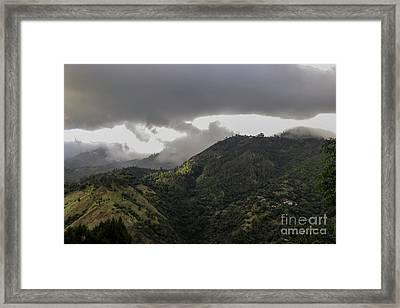 Jamaican Blue Mountains Framed Print