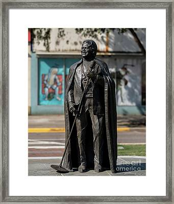 James Brown Statue - Augusta Ga 2 Framed Print