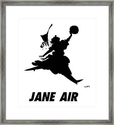 Jane Air Framed Print