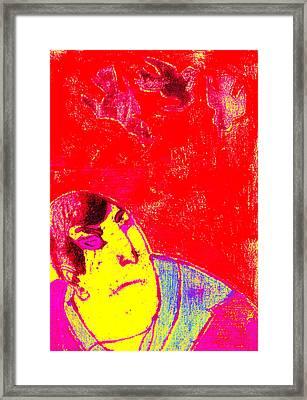 Japanese Pop Art Print 6 Framed Print