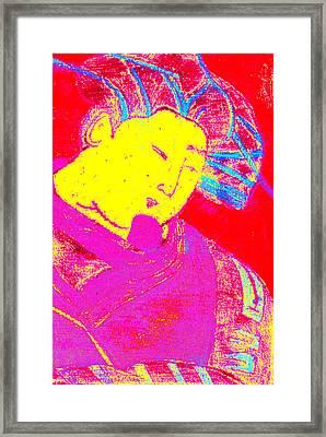 Japanese Pop Art Print 9 Framed Print