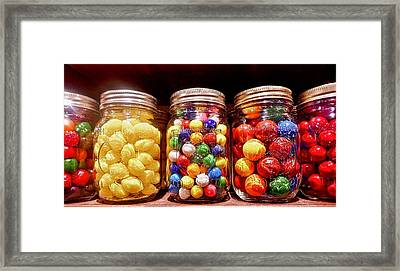 Framed Print featuring the photograph Jaw Breakers by Joan Reese
