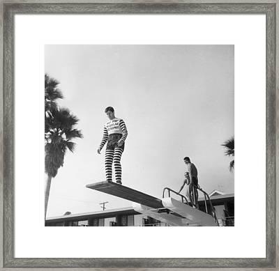 Jerry Lewis Framed Print