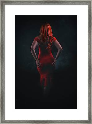 Jessicas Back Framed Print