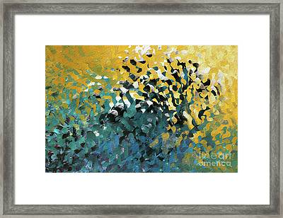 John 8 12. The Light Of Life Framed Print
