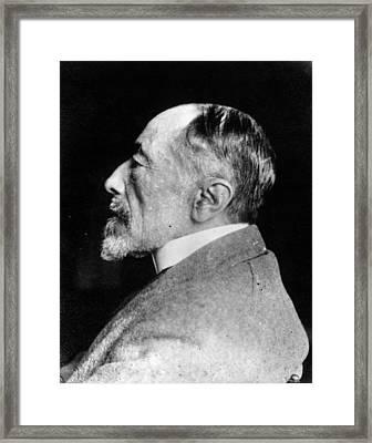 Joseph Conrad Framed Print by Spicer-simson