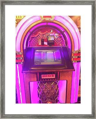 Jukebox Hero Framed Print