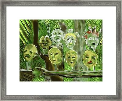 Jungle Spirits Framed Print
