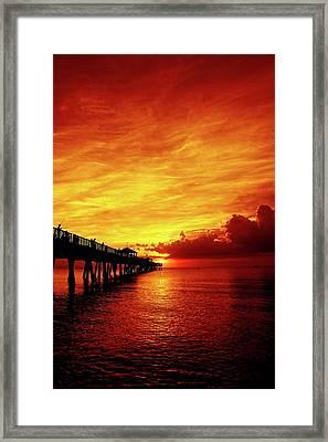 Juno Pier 2 Framed Print