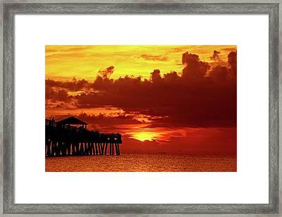 Juno Pier 1 Framed Print