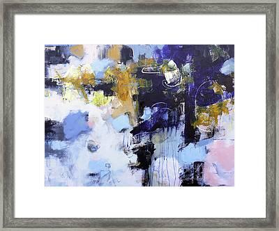 Juxtapose Framed Print by Elizabeth Chapman