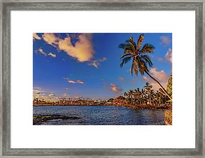 Kailua Bay Framed Print