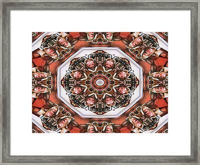 Kaleidoscope Of Apple Still Life Framed Print