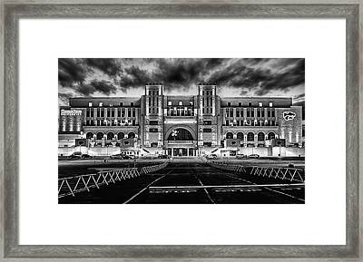 Kansas State Football Framed Print by JC Findley