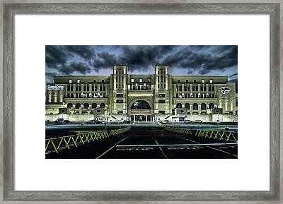 Kansas State University Nights Framed Print by JC Findley