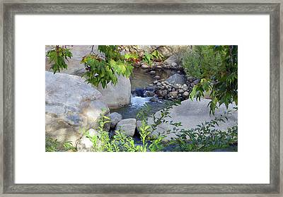 Kaweah River Framed Print
