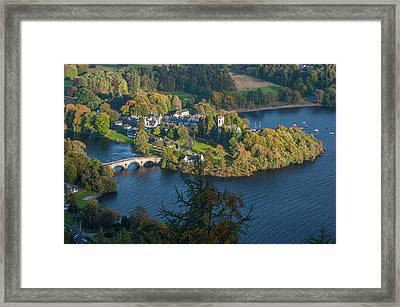 Kenmore And Loch Tay Framed Print by David Ross