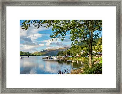 Kenmore And Loch Tay, Perthshire Framed Print by David Ross