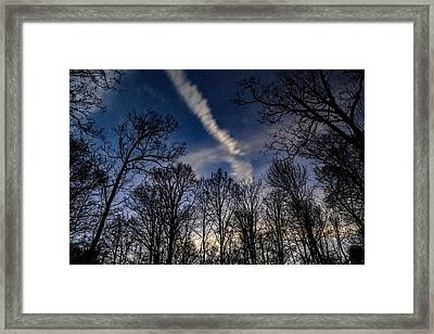 Kentucky Sky Framed Print