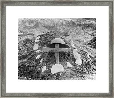 Killed In Action Framed Print by Hulton Archive