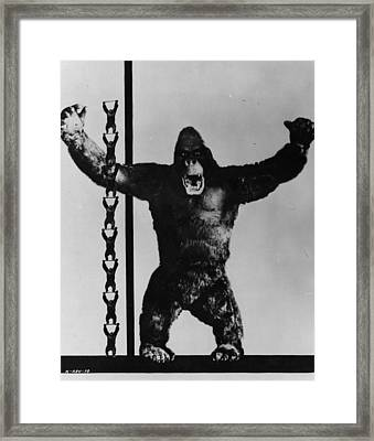 King Kong Framed Print by General Photographic Agency