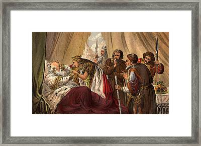 King Lear Framed Print by Hulton Archive