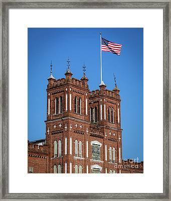 King Mill - Augusta Ga 3 Framed Print