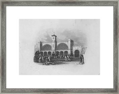 Kings Cross Framed Print by Hulton Archive
