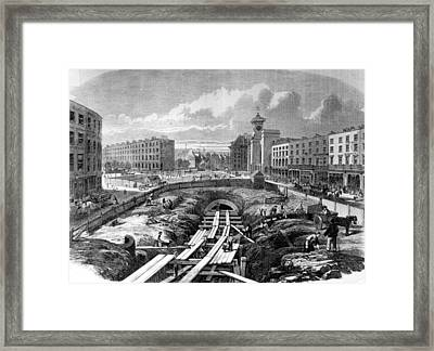 Kings Cross Station Framed Print by Hulton Archive