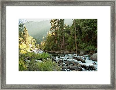 Kings River 1-7824 Framed Print by Stephen Parker