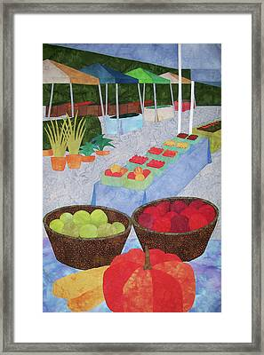 Kings Yard Farmers Market Framed Print