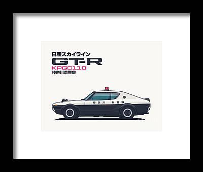 Designs Similar to Kpgc110 Gt-r Japan Police Car