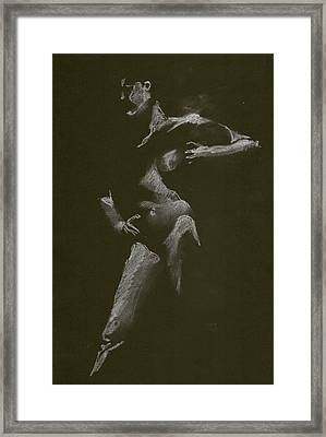 Kroki 2016 01 16-17 Framed Print