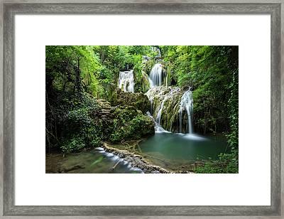 Krushunski Waterfalls Framed Print