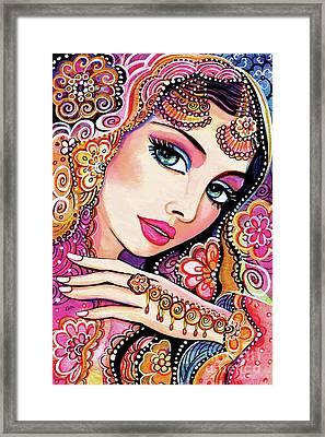 Kumari Framed Print