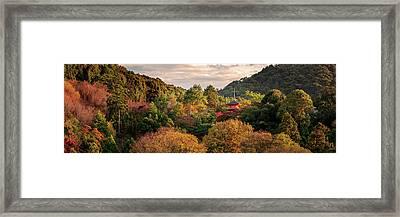 Higashiyama, Kyoto Framed Print