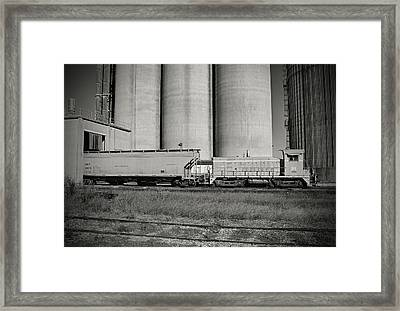 Framed Print featuring the photograph L C Sw900 91 B W 55 A by Joseph C Hinson Photography