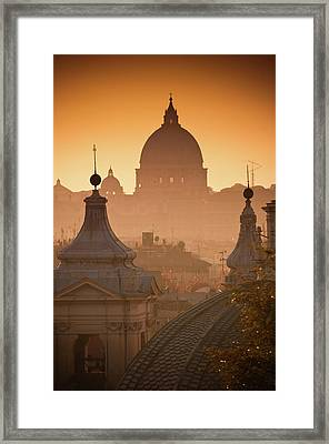 La Grande Bellezza Framed Print by Graziano