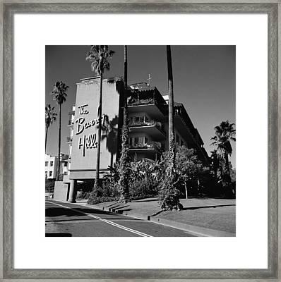 La Hotel Framed Print