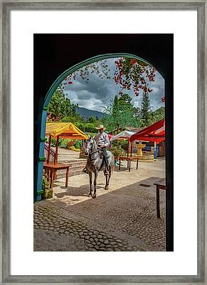 Framed Print featuring the photograph La Mayoria by Francisco Gomez