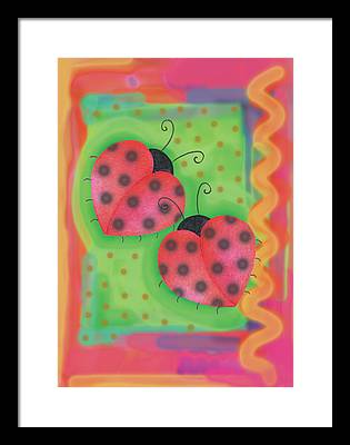 Lady Bug Framed Prints