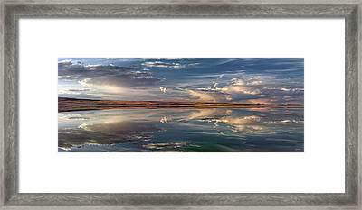 Lake Abert 4 Framed Print by Leland D Howard