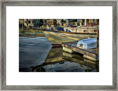 Lake Dardanelle Marina Framed Print