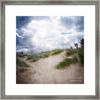 Lake Michigan Sand Dunes Framed Print