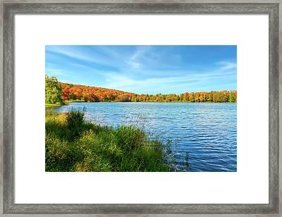 Lake Montrose Pennsylvania - Lakemontrosepennsylvania104889 Framed Print