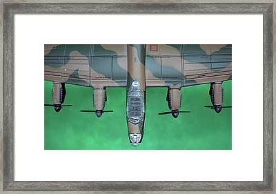 Lanc Model Framed Print