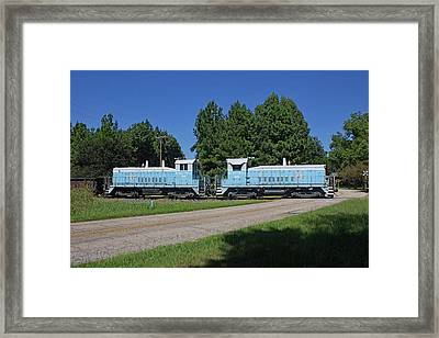 Framed Print featuring the photograph Lancaster And Chester Railroad 08 27 A by Joseph C Hinson Photography