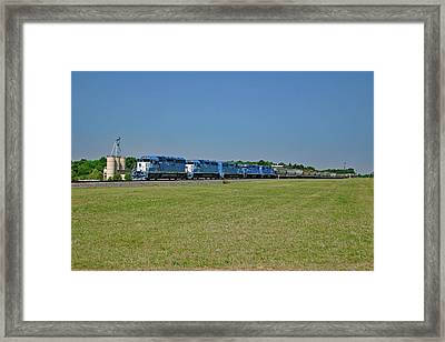 Framed Print featuring the photograph Lancaster Chester Railway 2004 G by Joseph C Hinson Photography