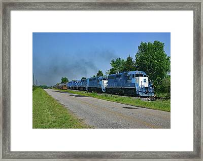 Framed Print featuring the photograph Lancaster Chester Railway 2004 H by Joseph C Hinson Photography